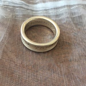 Tiffany & Co.  1837 ring size 8